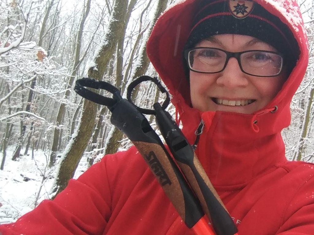 Každé roční období je to pravé pro nordic walking!