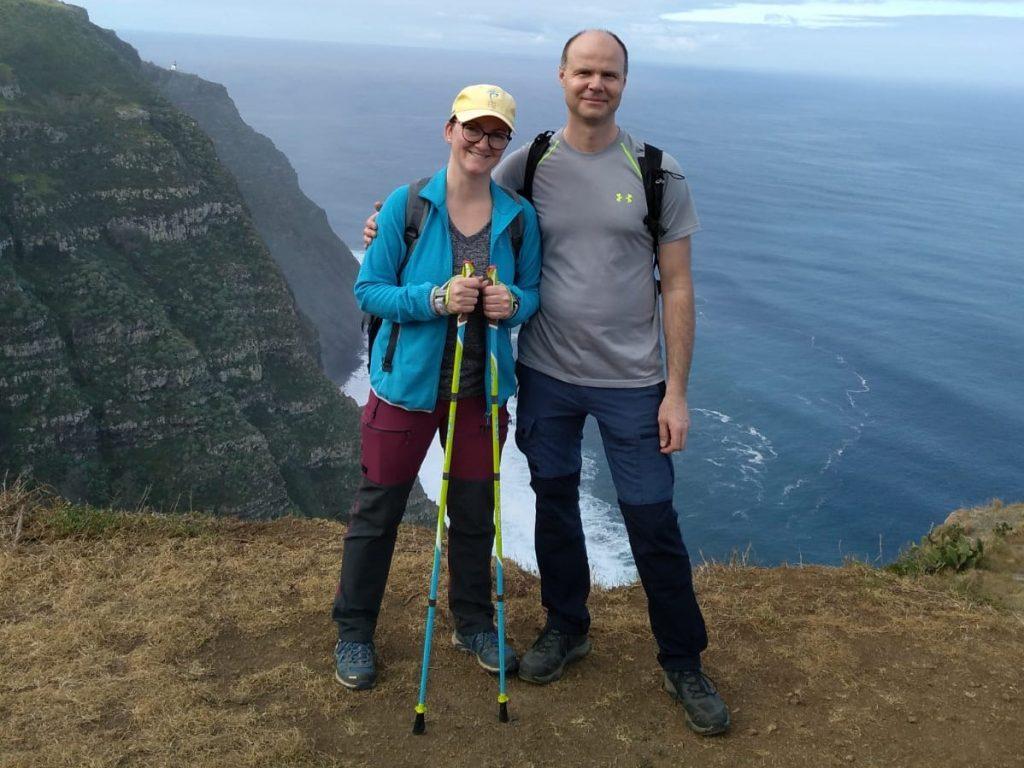 Nordic walking i na rodinné dovolené! Kopcovitá Madeira je ideální terén!