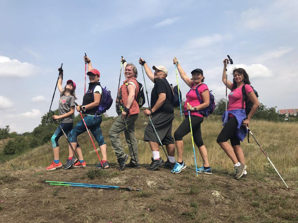 Během putování podél Prokopského potoka jsme vyšplhali i na Albrechtův vrch.