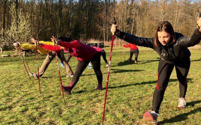 Nordic walking & protahování