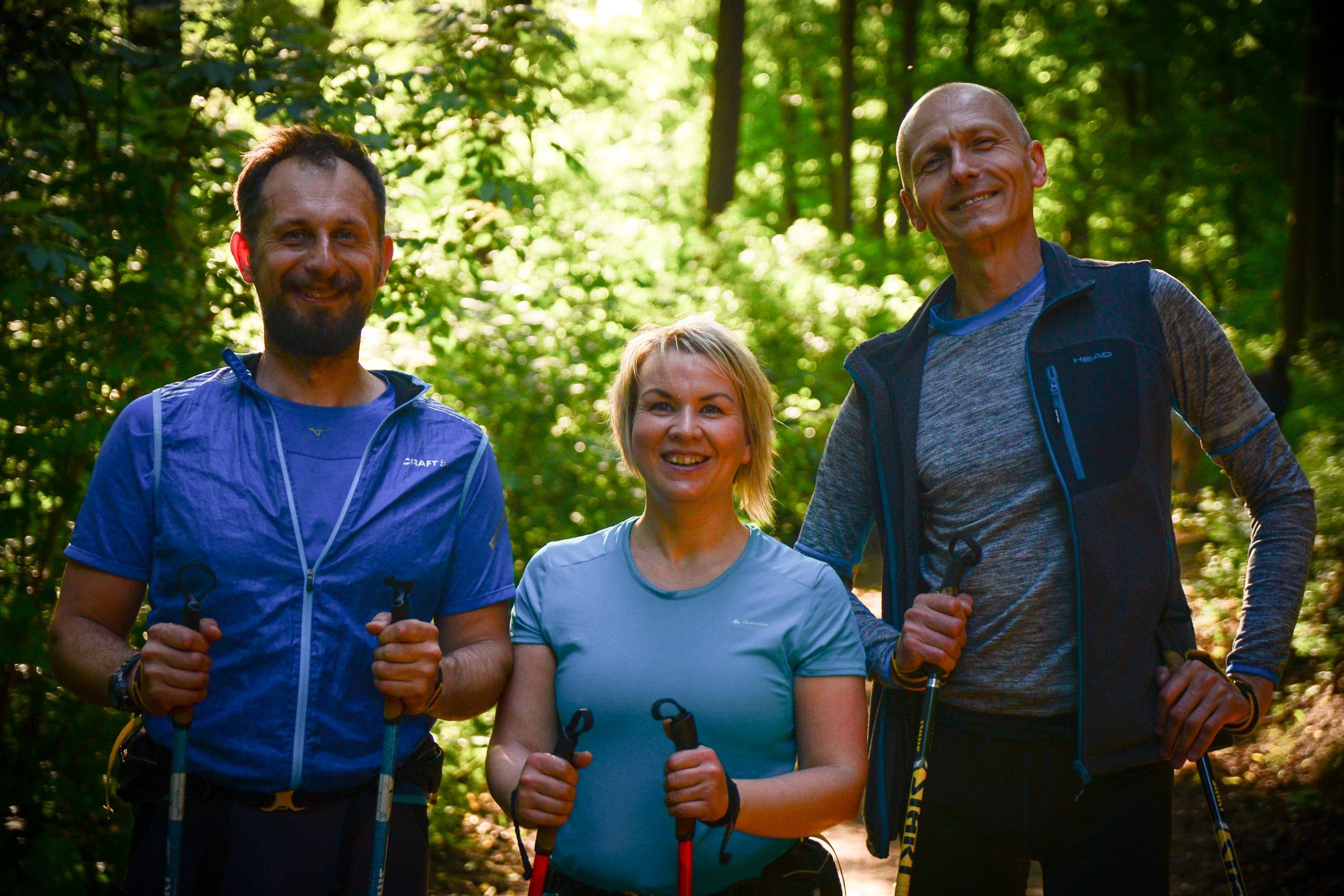 nordic sports tým 2020, mira, lenka, laeš