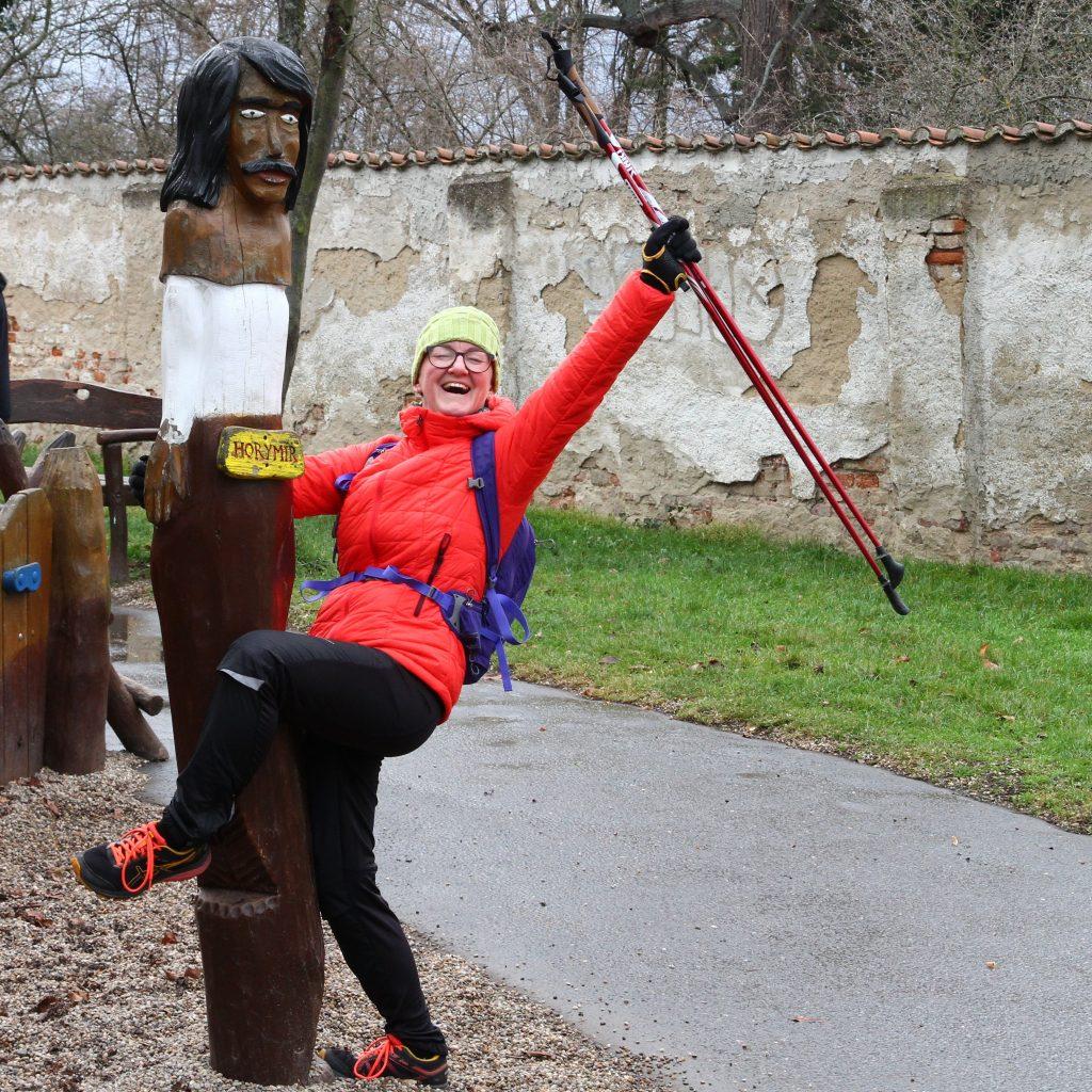 Vážná i praštěná :) Lenka Křivánková, instruktorka nordic walking